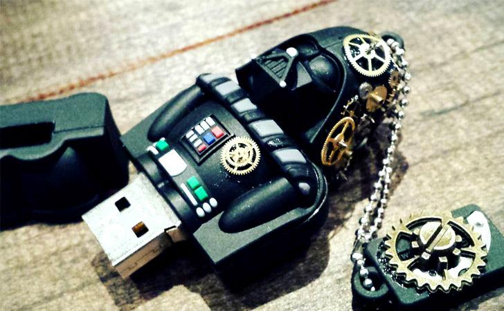 Steampunk Darth Vader USB Drive