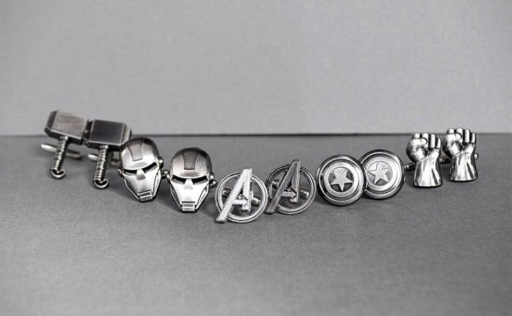 Superhero Cufflinks Set - creative gifts for boyfriends