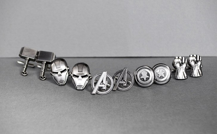 Superhero Cufflinks Set - creative gifts for boyfriends