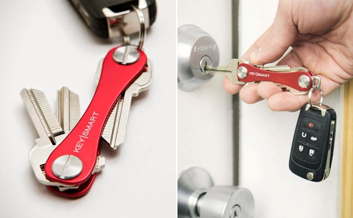 The Keysmart Minimalist Key Organizer