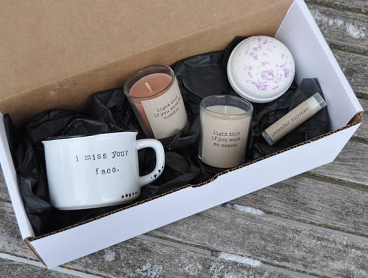 The Long Distance Boyfriend Gift Box