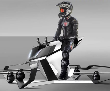 The Scorpion-3 Hoverbike