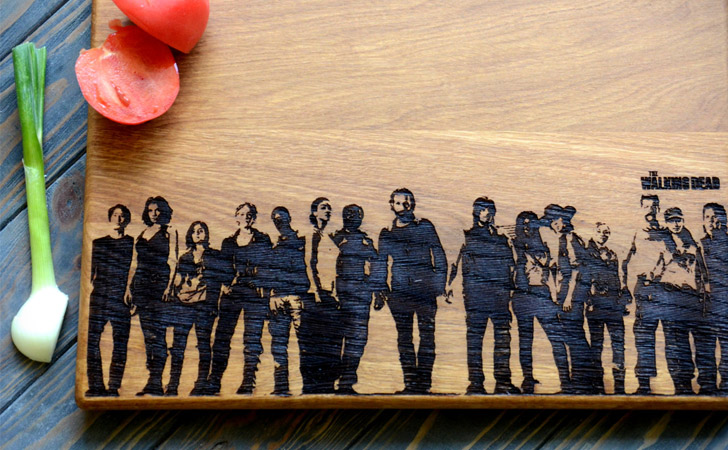 The Walking Dead Cutting Boards