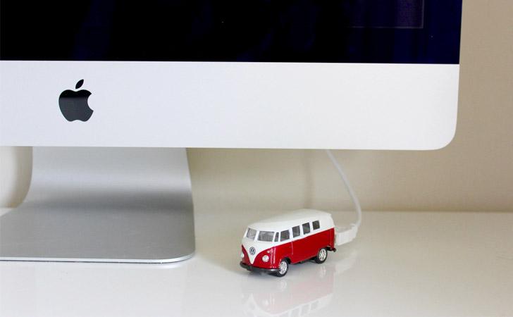 VW Kombi Van USB Drive