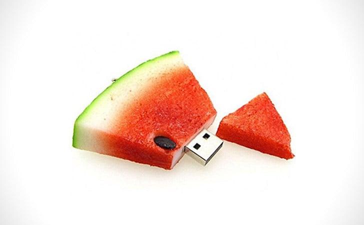 Watermelon Wedge USB Drive