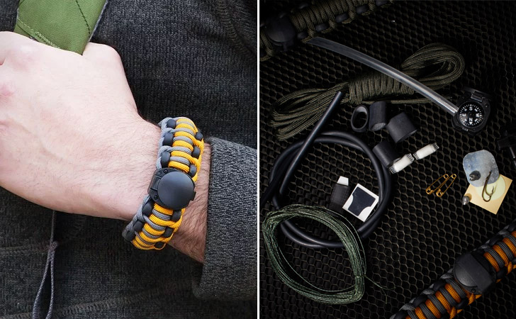 Wazoo The Ultimate Adventure Survival Bracelet - creative gifts for boyfriends