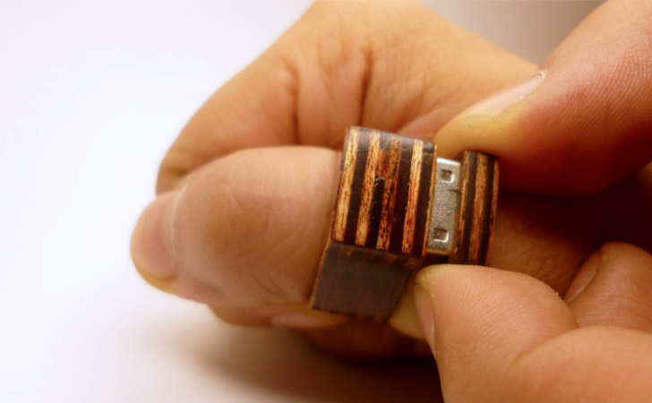 Wooden Ring USB Drive