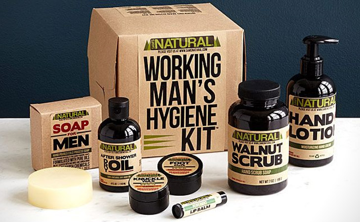 Working Mans Hygiene Kit - creative gifts for boyfriends