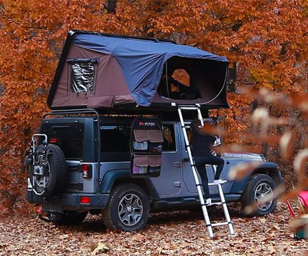 iKamper: Expandable Rooftop Car Tent