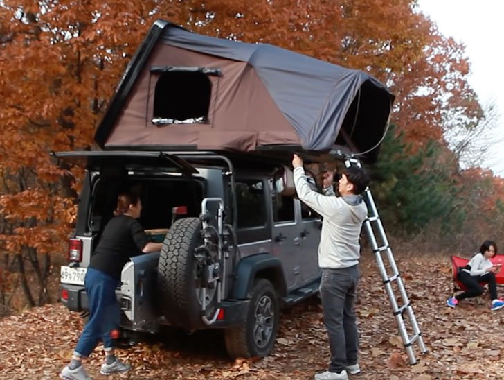 Ikamper Expandable Rooftop Car Tent Awesome Stuff 365