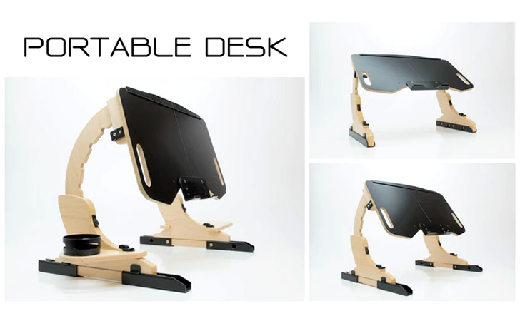 Portable Workstation Desk Best Home Design 2018