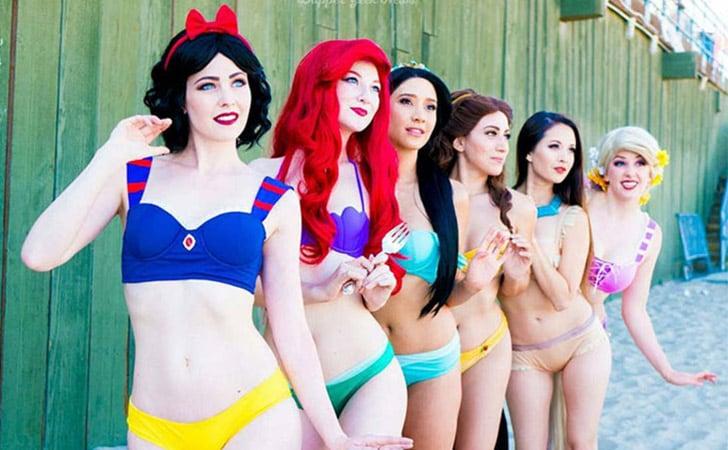 Disney Princess Bikinis