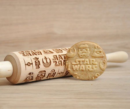 Embossed Cookie Making Rolling Pins