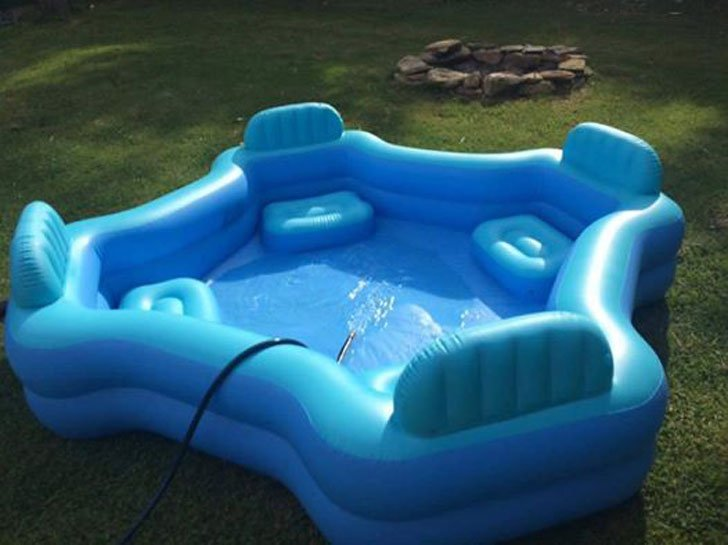 Intex family pool lounge awesome stuff 365 Intex inflatable swimming pool