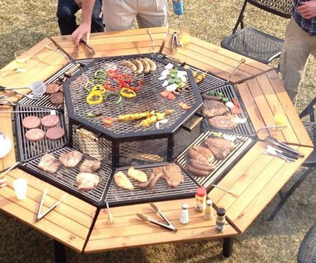 Jag Grill Firepit Tables