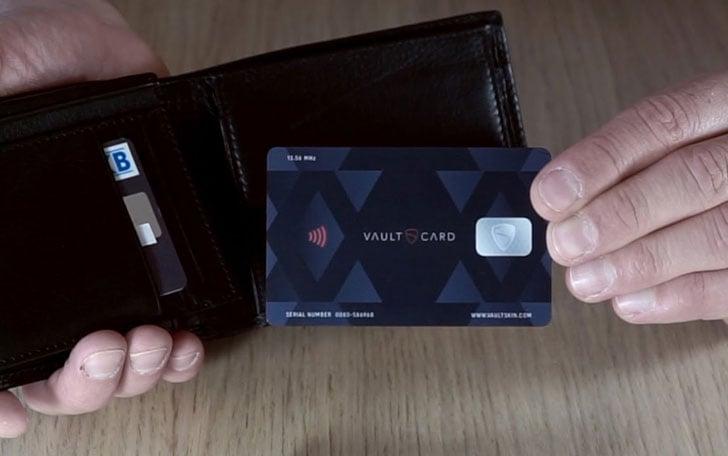 RFID Fraud Protection Card