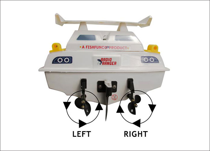 Remote Controlled Fishing Boat