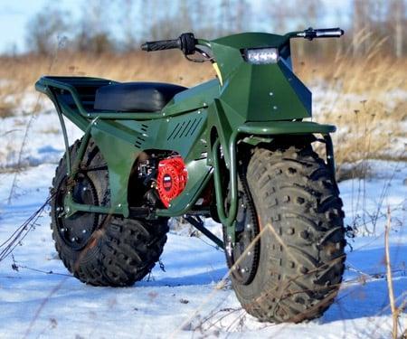 Tarus 2x2 All Terrain Folding Motorbike Awesome Stuff 365