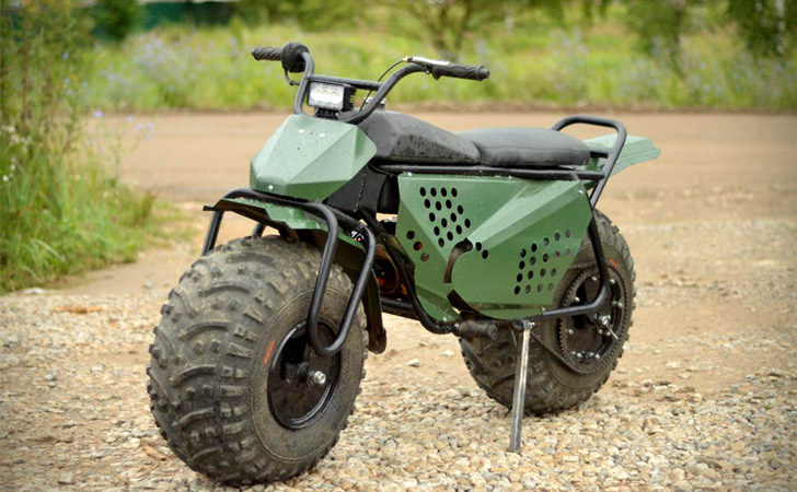 Tarus2x2: All-Terrain Folding Motorbike