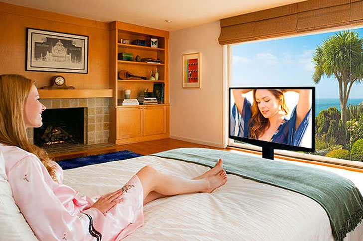 under bed motorized tv lift awesome stuff 365. Black Bedroom Furniture Sets. Home Design Ideas