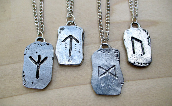 Viking Rune Pendant Necklace