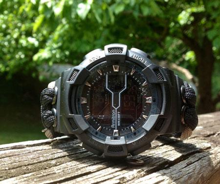 550 Paracord Armitron Survival Watch