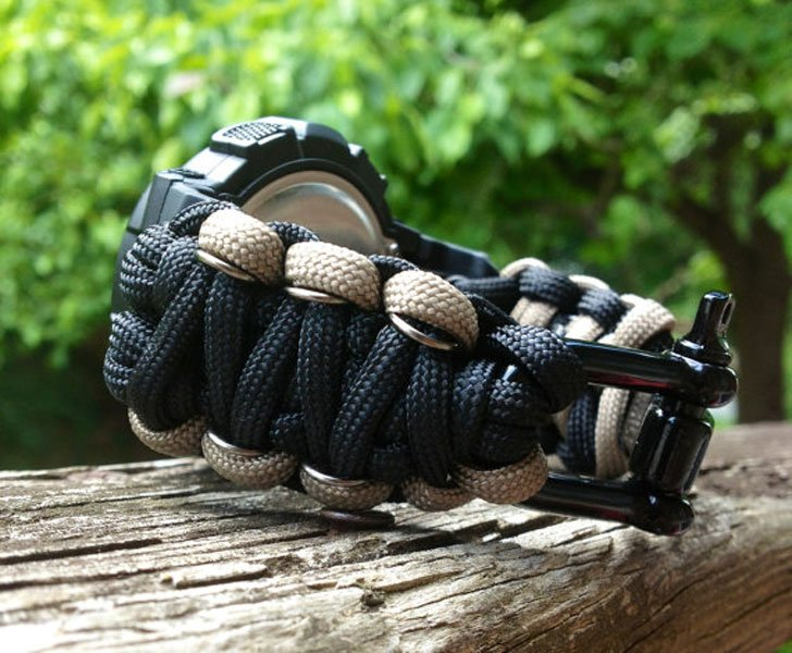 550 Paracord Armitron Survival Watch