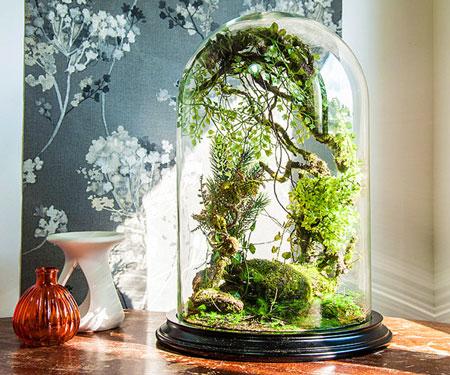 Artificial Plant Forest Terrariums