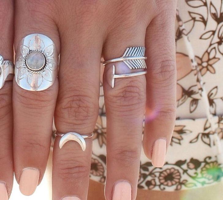 Boho Style Sterling Silver Jewelry