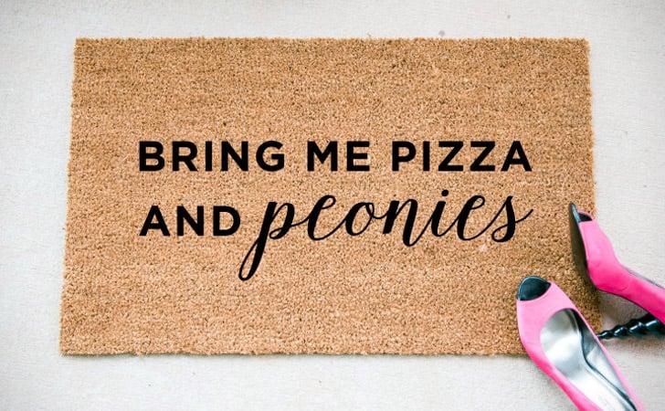 Bring Pizza & Peonies
