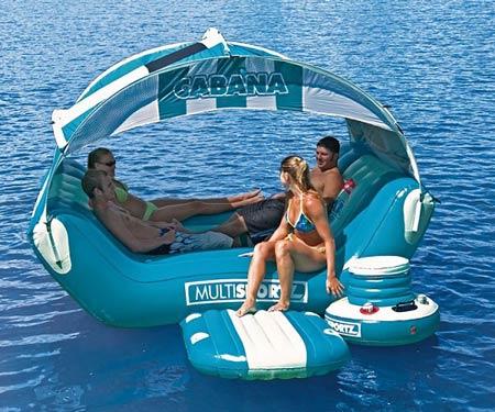 Cabana Islander Inflatable 6 Person Lounge