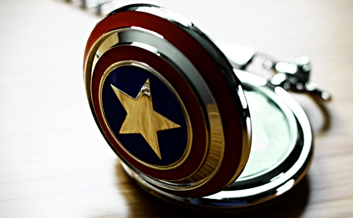 Captain America Pocket Watch