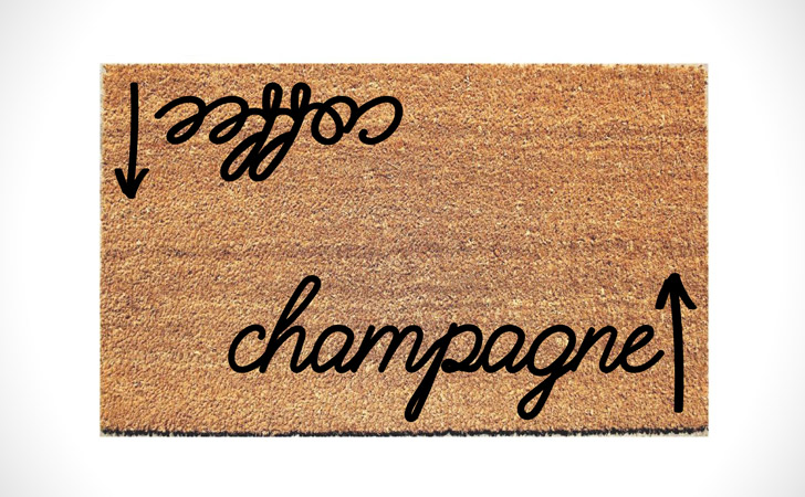 Coffee / Champagne Doormat