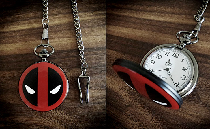 Deadpool Pocket Watch - Pocket Watches For Men