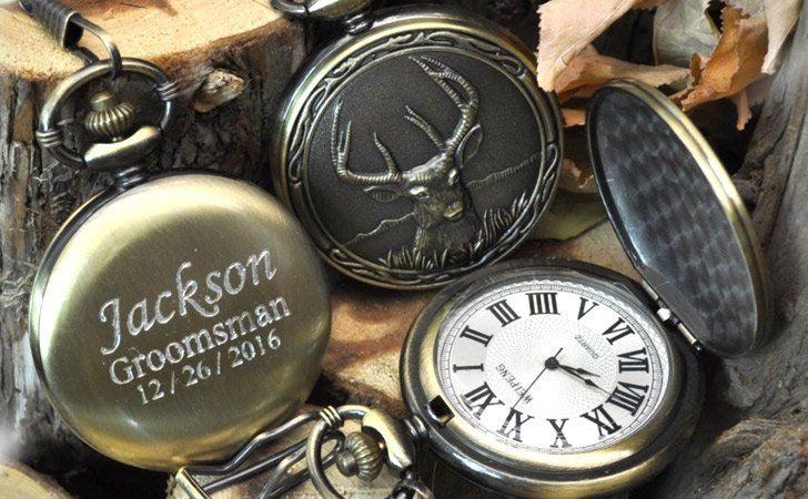 Elk Bronze Pocket Watch - Pocket Watches For Men