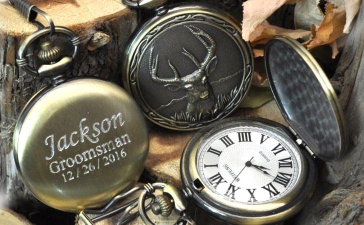 Elk Bronze Pocket Watch - Pocket Watches For Men