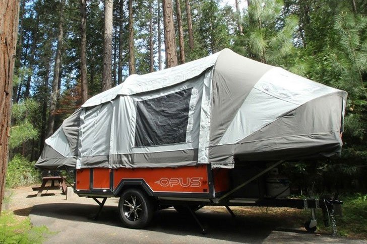 Inflatable Soft Top Camper