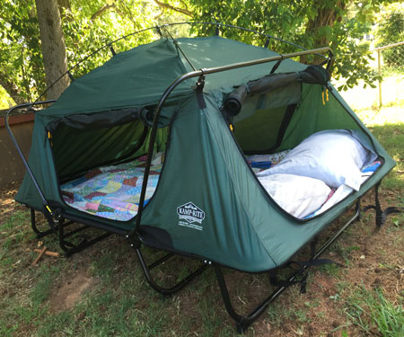 K&-Rite Double Tent Cot & Cool Camping Gear | Coolest Camping gadgets | Awesome Stuff 365
