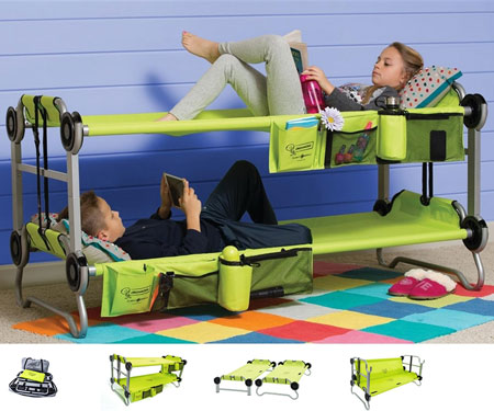 Kid-O-Bunk Camping Bunk Bed