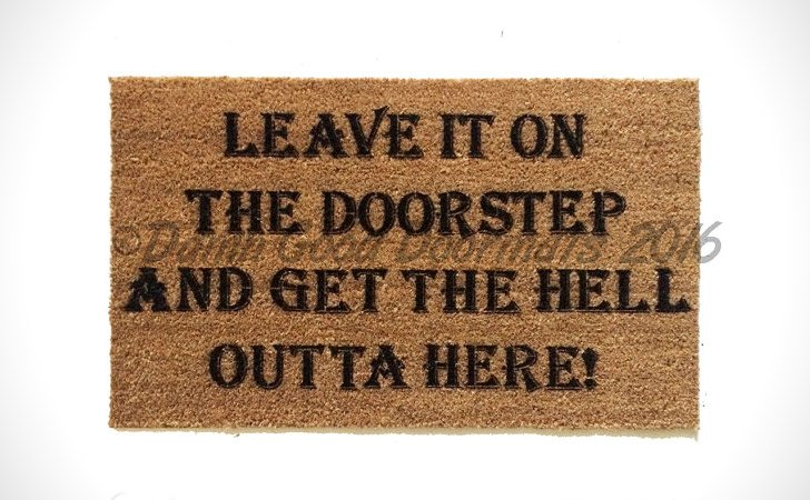 Leave It On The Doorstep