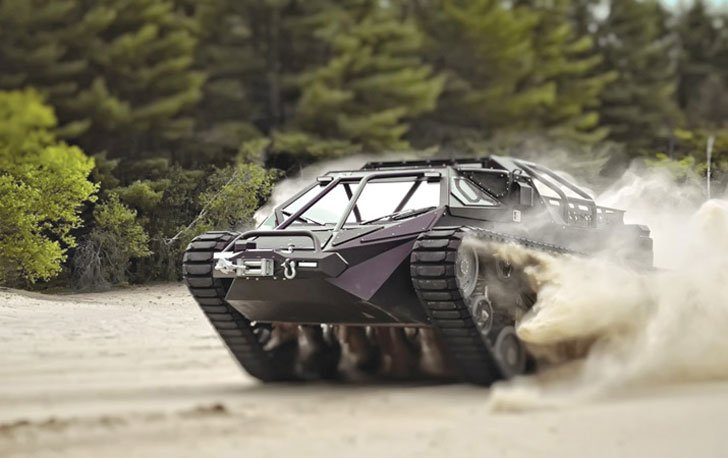 Luxury Off Road Tank Awesome Stuff 365