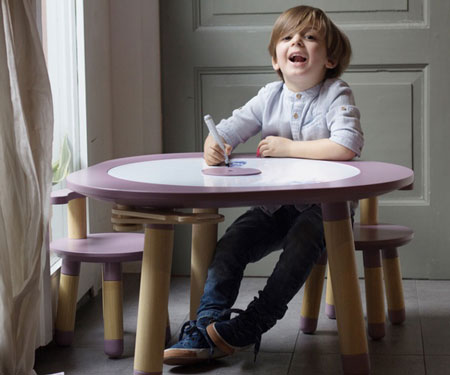 Multi-Function Children's Play Table