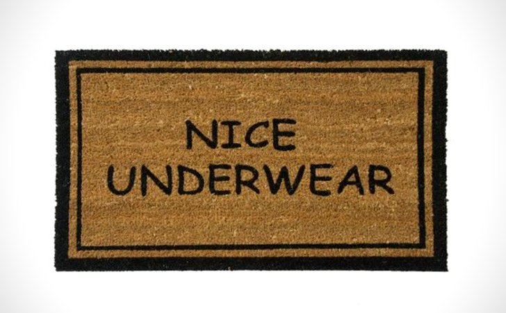 Nice Underwear - funniest doormats
