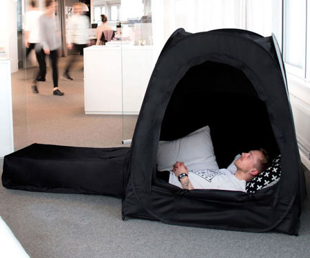 Pop-Up Napping Pods