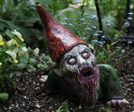 Scary Garden Gnomes