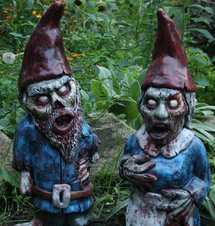 Image Result For Horror Garden Gnomes