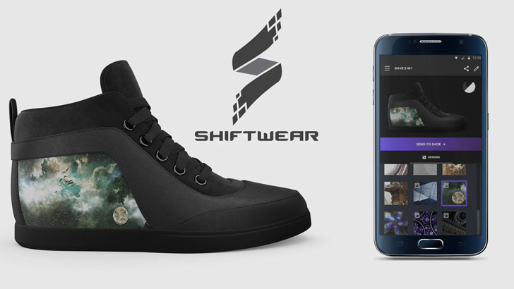 Shiftwear Customizable Display Shoes