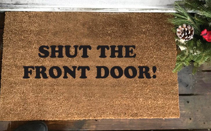 Shut The Front Door - funniest doormats
