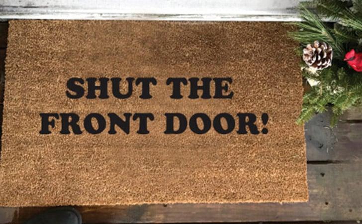 Shut The Front Door - funniest doormats