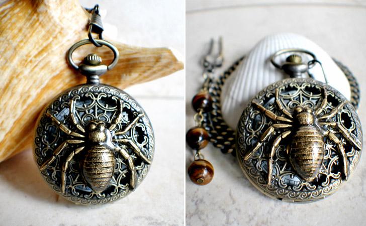Spider Pocket Watch - Pocket Watches For Men